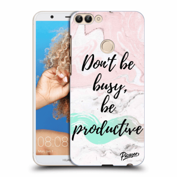 Obal pro Huawei P Smart - Don't be busy, be productive
