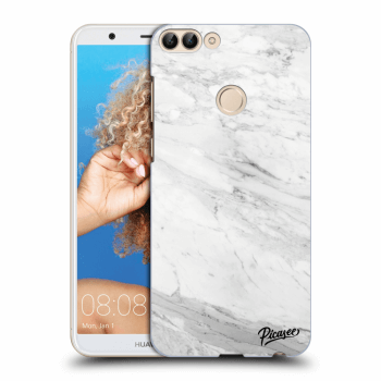 Obal pro Huawei P Smart - White marble