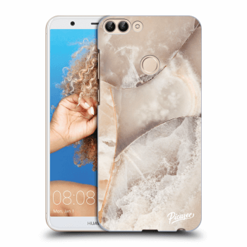 Obal pro Huawei P Smart - Cream marble