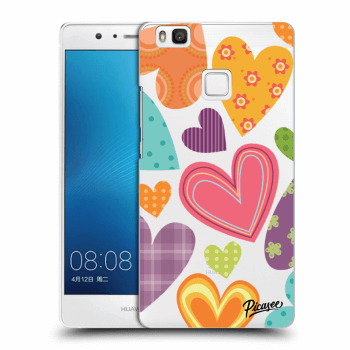 Obal pro Huawei P9 Lite - Colored heart