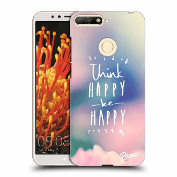 Obal pro Huawei Y6 Prime 2018 - Think happy be happy