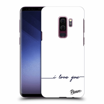 Obal pro Samsung Galaxy S9 Plus G965F - I love you