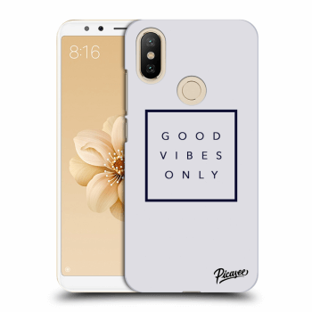 Obal pro Xiaomi Mi A2 - Good vibes only