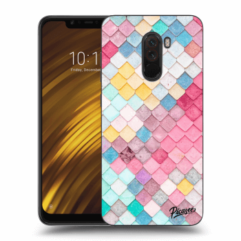 Obal pro Xiaomi Pocophone F1 - Colorful roof