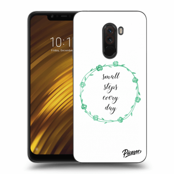 Obal pro Xiaomi Pocophone F1 - Small steps every day