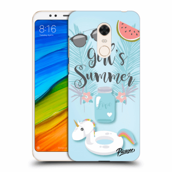 Obal pro Xiaomi Redmi 5 Plus Global - Girls Summer