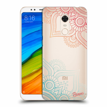 Obal pro Xiaomi Redmi 5 Plus Global - Flowers pattern