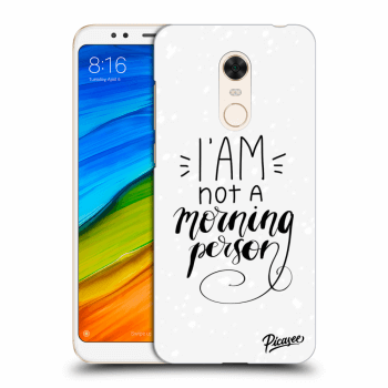 Obal pro Xiaomi Redmi 5 Plus Global - I am not a morning person