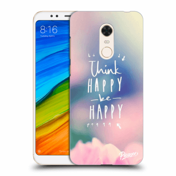 Obal pro Xiaomi Redmi 5 Plus Global - Think happy be happy