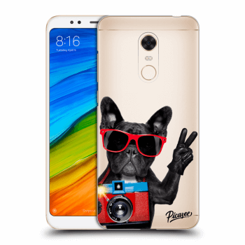 Obal pro Xiaomi Redmi 5 Plus Global - French Bulldog