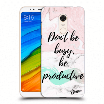 Obal pro Xiaomi Redmi 5 Plus Global - Don't be busy, be productive