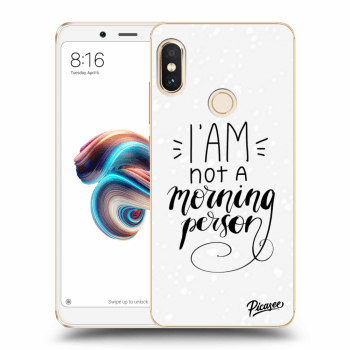 Obal pro Xiaomi Redmi Note 5 Global - I am not a morning person