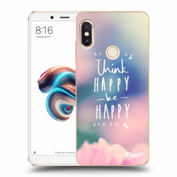 Obal pro Xiaomi Redmi Note 5 Global - Think happy be happy