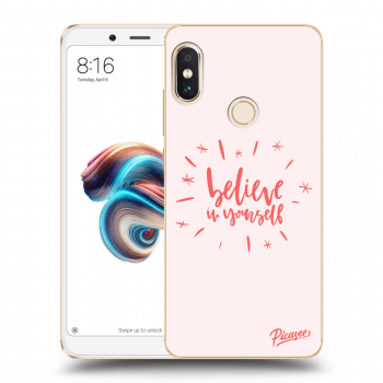 Obal pro Xiaomi Redmi Note 5 Global - Belive in yourself