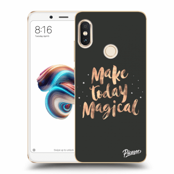 Obal pro Xiaomi Redmi Note 5 Global - Make today Magical