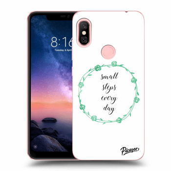 Obal pro Xiaomi Redmi Note 6 Pro - Small steps every day