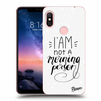 Obal pro Xiaomi Redmi Note 6 Pro - I am not a morning person