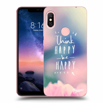 Obal pro Xiaomi Redmi Note 6 Pro - Think happy be happy