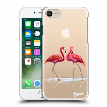 Obal pro Apple iPhone 7 - Flamingos couple