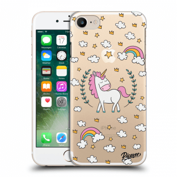 Obal pro Apple iPhone 7 - Unicorn star heaven
