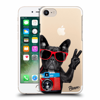 Obal pro Apple iPhone 7 - French Bulldog