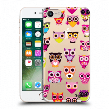 Obal pro Apple iPhone 7 - Owls