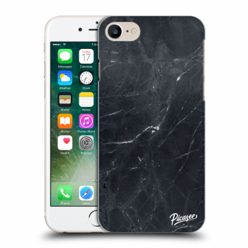 Obal pro Apple iPhone 7 - Black marble