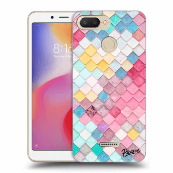 Obal pro Xiaomi Redmi 6 - Colorful roof