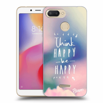 Obal pro Xiaomi Redmi 6 - Think happy be happy