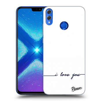 Obal pro Honor 8X - I love you