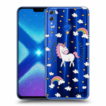 Obal pro Honor 8X - Unicorn star heaven
