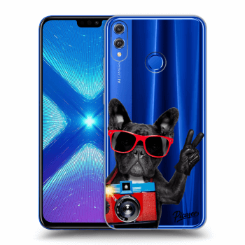 Obal pro Honor 8X - French Bulldog