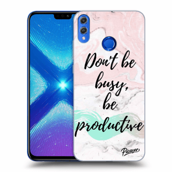 Obal pro Honor 8X - Don't be busy, be productive