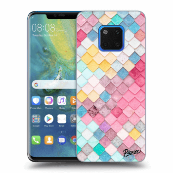 Obal pro Huawei Mate 20 Pro - Colorful roof