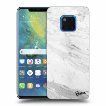 Obal pro Huawei Mate 20 Pro - White marble