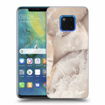 Obal pro Huawei Mate 20 Pro - Cream marble