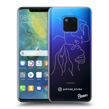Obal pro Huawei Mate 20 Pro - Forehead kiss White