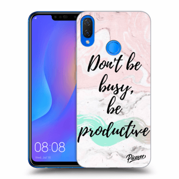 Obal pro Huawei Nova 3i - Don't be busy, be productive