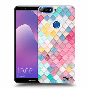 Obal pro Huawei Y7 Prime (2018) - Colorful roof