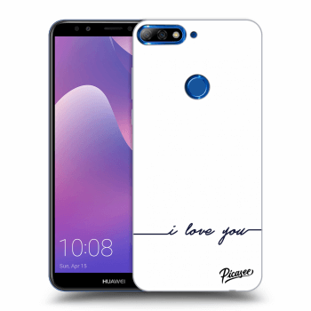Obal pro Huawei Y7 Prime (2018) - I love you