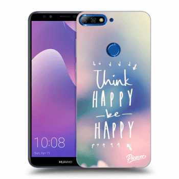 Obal pro Huawei Y7 Prime (2018) - Think happy be happy