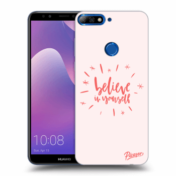 Obal pro Huawei Y7 Prime (2018) - Believe in yourself