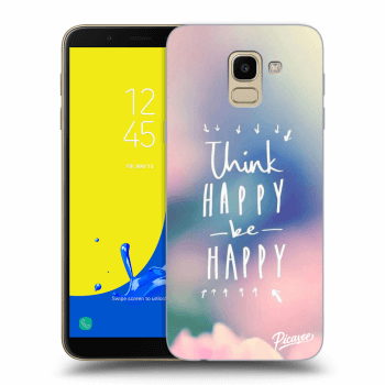Obal pro Samsung Galaxy J6 J600F - Think happy be happy