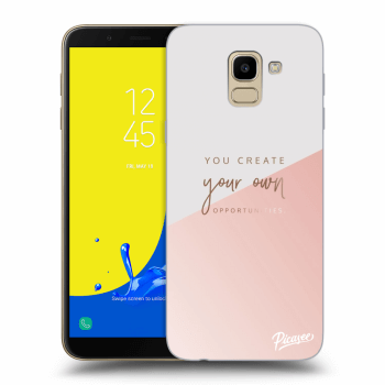 Obal pro Samsung Galaxy J6 J600F - You create your own opportunities