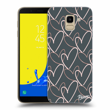 Obal pro Samsung Galaxy J6 J600F - Lots of love