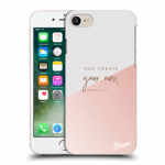 Picasee silikonový průhledný obal pro Apple iPhone 8 - You create your own opportunities