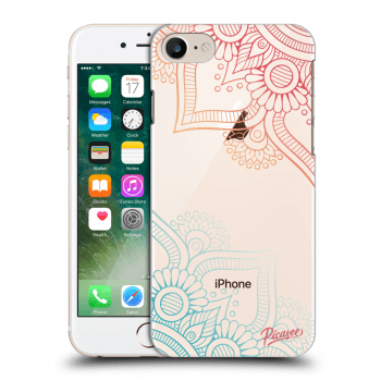Obal pro Apple iPhone 8 - Flowers pattern