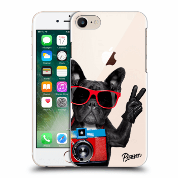 Obal pro Apple iPhone 8 - French Bulldog