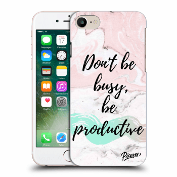 Obal pro Apple iPhone 8 - Don't be busy, be productive