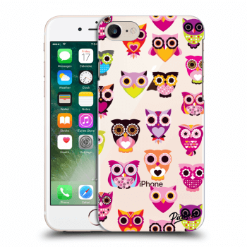 Obal pro Apple iPhone 8 - Owls